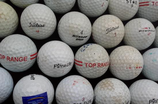 Palline golf usate 30 pezzi