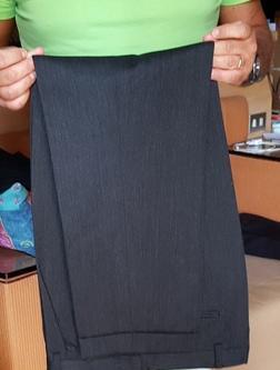 Pantalone grigio antracite valentino roma