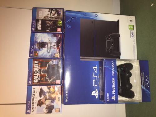 Playstation 4 ps4 500gb con giochi