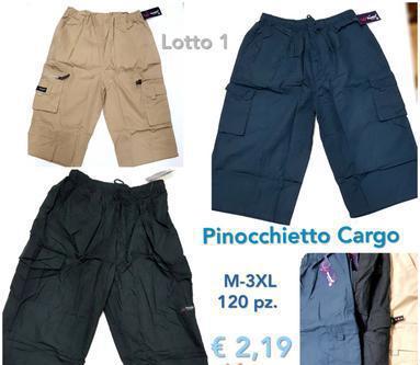 STOCK PANTALONI CARGO UOMO 1 Giugliano in Campania