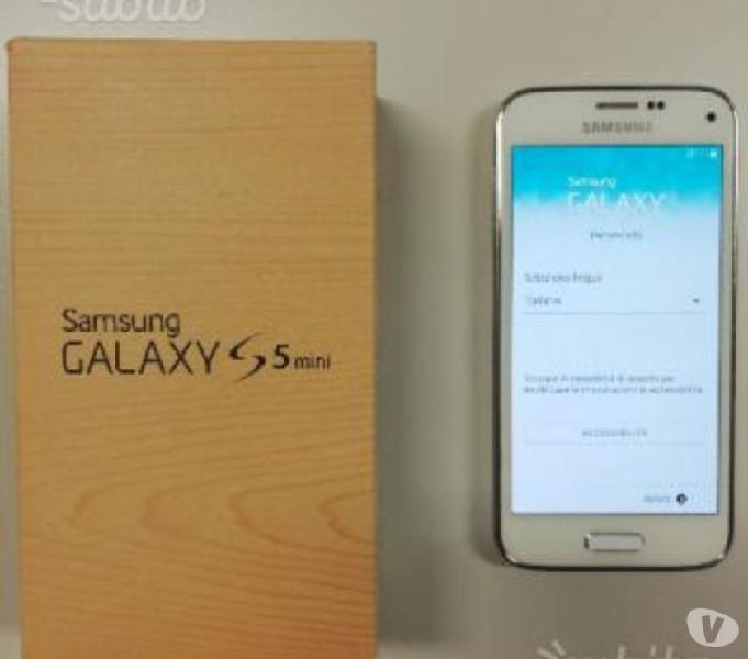 Samsung s5 mini bianco opzional