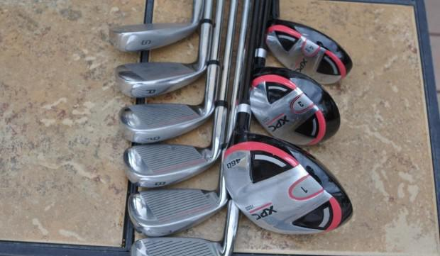 Set da golf ferri e legni, mazze da golf con sacca golfsmith