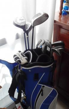 Set mazze da golf completo con carrello