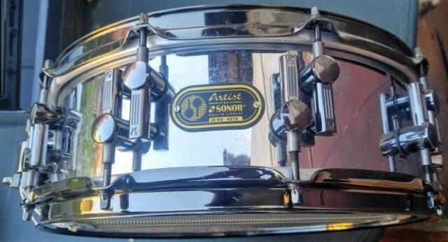 """Sonor serie artist 14x5"""" rullante betulla tamburo drum"""