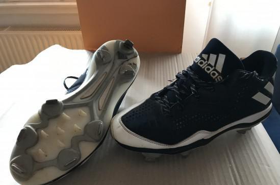 Spike metallo, scarpe badeball 42