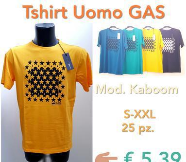 Stock T-Shirt Uomo Gas (Kaboom) Giugliano in Campania