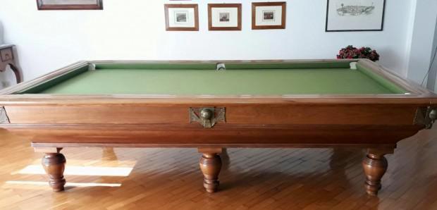 Tavolo da biliardo professionale fatto a mano