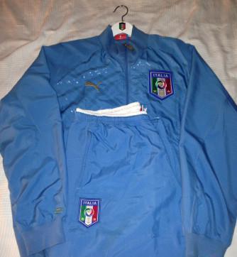 Tuta nazionale italiana ufficiale conf. cup 2009 brasile
