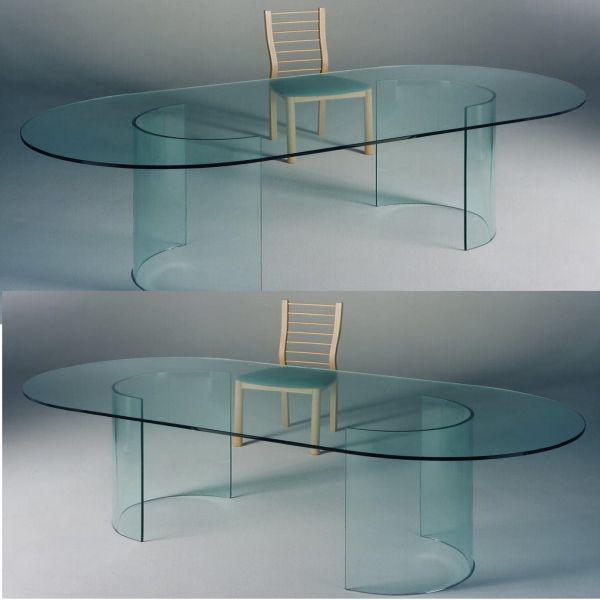Tavolo riunione / ufficio riunioni glass