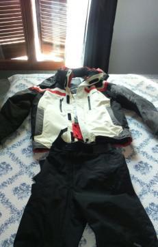 Tuta da sci, pantalone e giacca