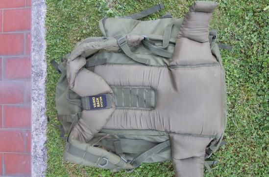 Zaino softair militare 100lt. od
