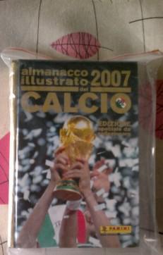 Almanacco panini 2007 edizione da collezione