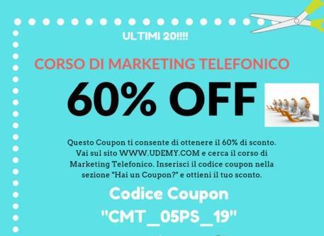 Scuole e corsi corso di marketing telefonico cz