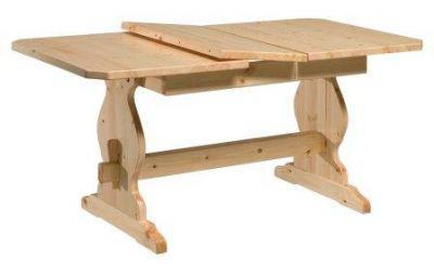 Tavolo frattino allungabile in legno massello