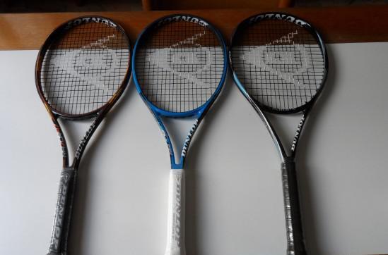 3 racchette tennis dunlop nuove 100 euro tutte e tre