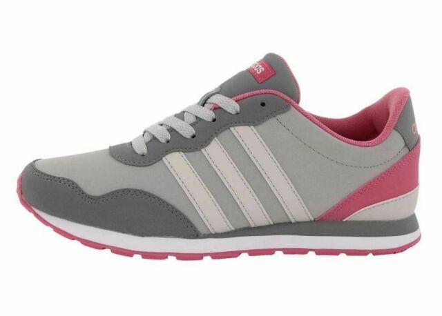 Adidas v jog k bc0083 grigio scarpe donna bambini sneakers