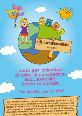 Feste di compleanno: arriva l'animatore sostenibile