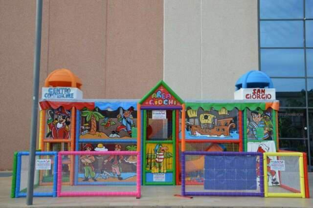 Giochi playground per bambini gonfiabili scivolo gonfiabile