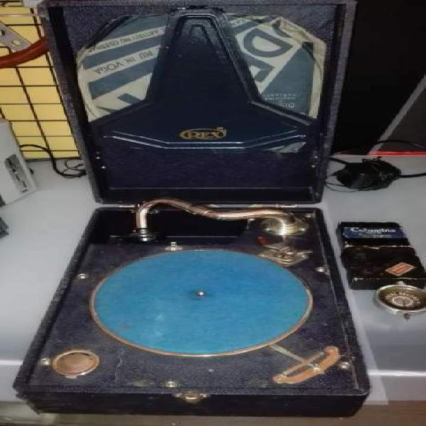Grammofono portatile fonovaligia nuovo
