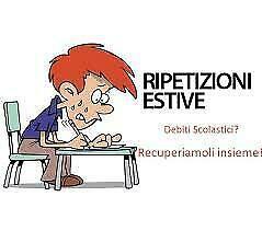 Latino italiano ripetizioni recupero debiti insegnante offre
