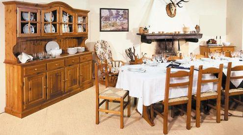 Mobili rustici country prezzi fabbrica: soggiorno 042 miele