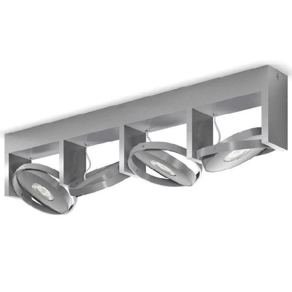 Philips faretto quad particon 4x4,5 w grigio 531544816
