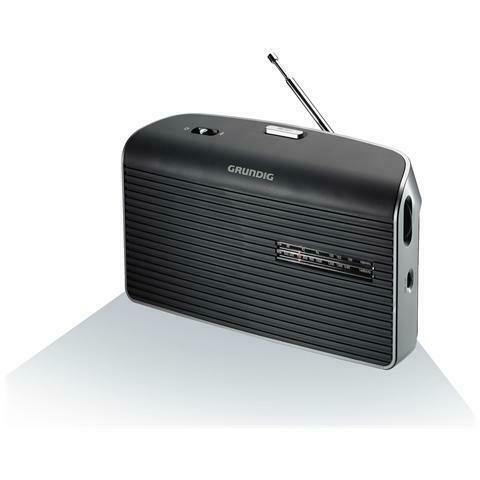Radio transistor grundig music60 fm am colore:grigio