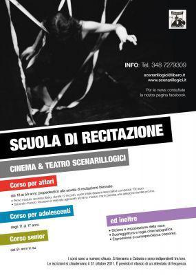 Scuola di recitazione a catania - cinema & teatro