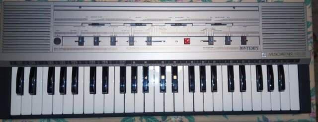 Tastiera elettronica bontempi music partner mrs49