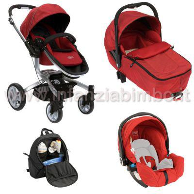 Trio graco symbio chilli red