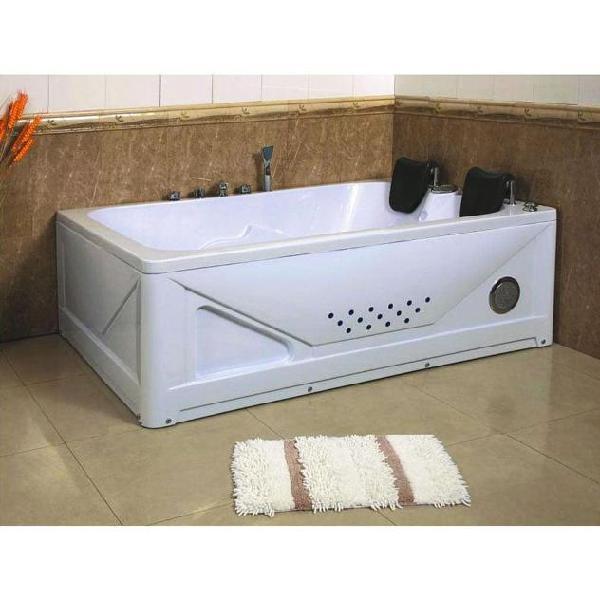 Vasca da bagno idromassaggio rettangolare 2 posti 170x120 cm