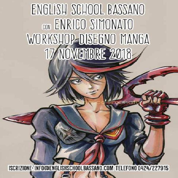 Workshop di disegno manga