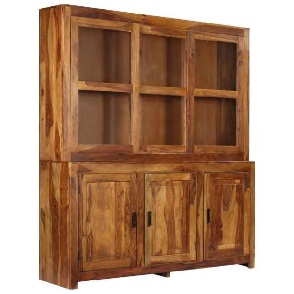 Vidaxl credenza in legno massello di sheesham 180x45x200 cm