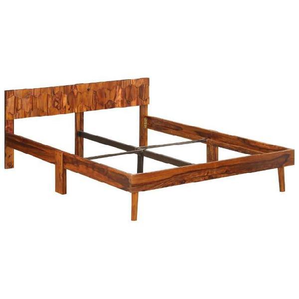 Vidaxl giroletto in legno massello di sheesham 140 cm