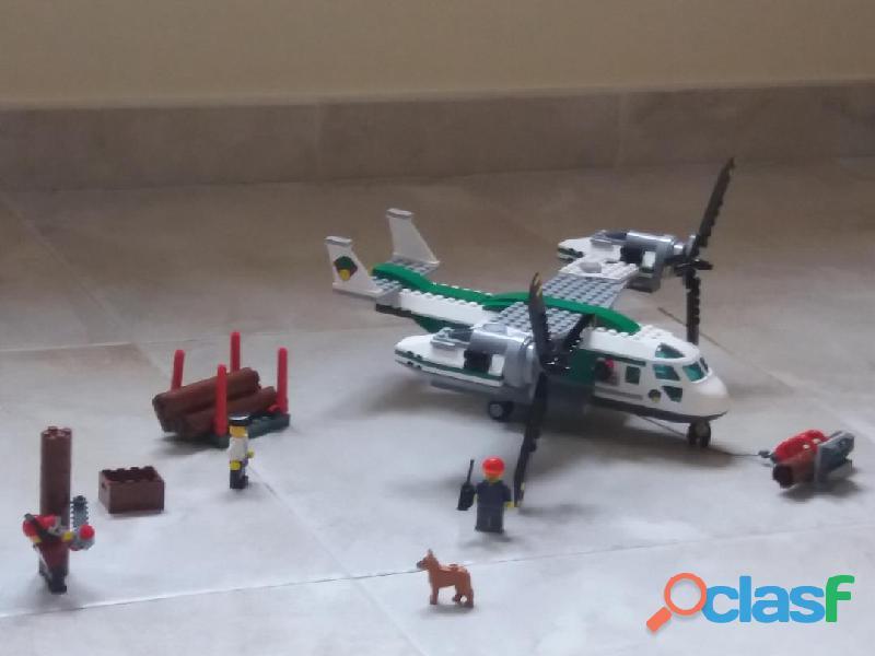 Aereo (biplano) della Lego