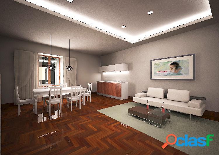 Appartamento centrale e panoramico da ristrutturare