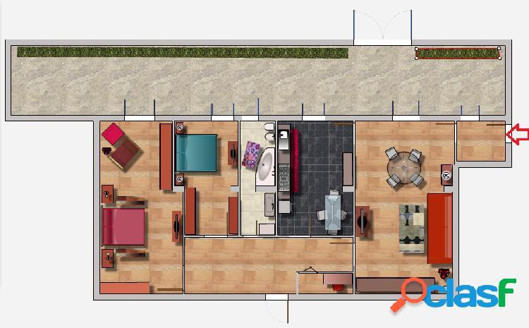 Battistini- appartamento ampia metratura € 325.000 t402