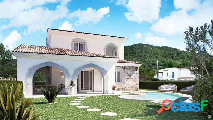 Villa indipendente con giardino lu fraili