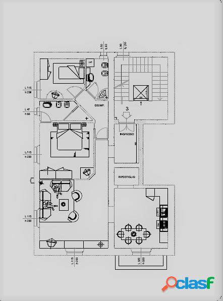 Residenziale in capannori - carraia
