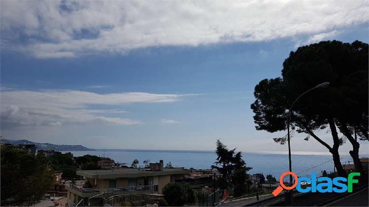 Sanremo, vista mare giardino privato ampi terrazzi