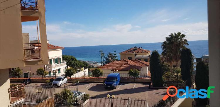 Sanremo, vista mare, p. auto, trilocale spiagge