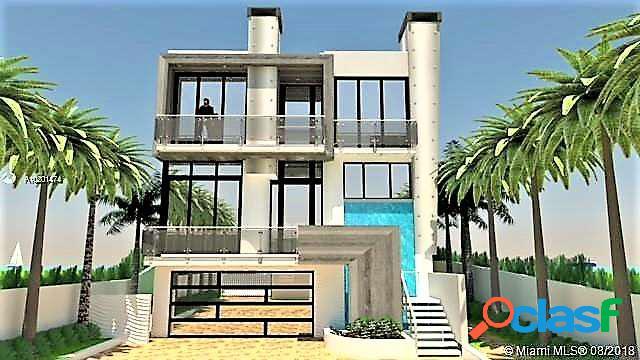Villa in costruzione 836 mq a golden beach miami