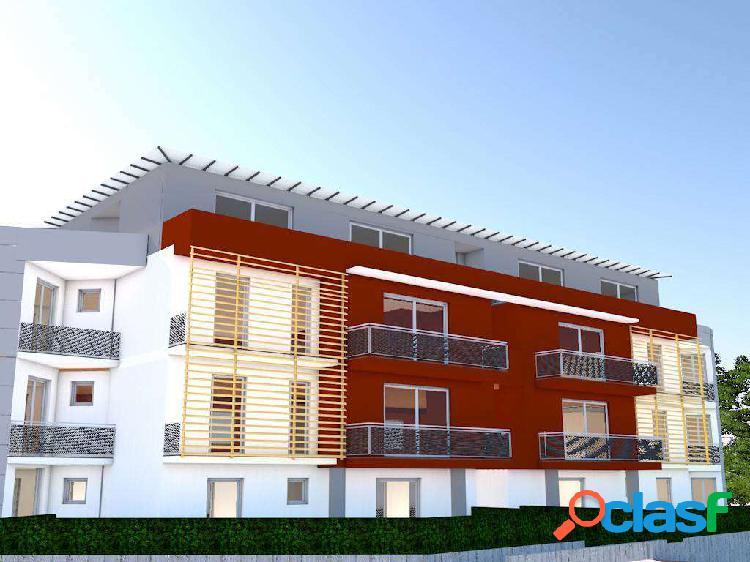 Nuova costruzione: trilocale con giardino