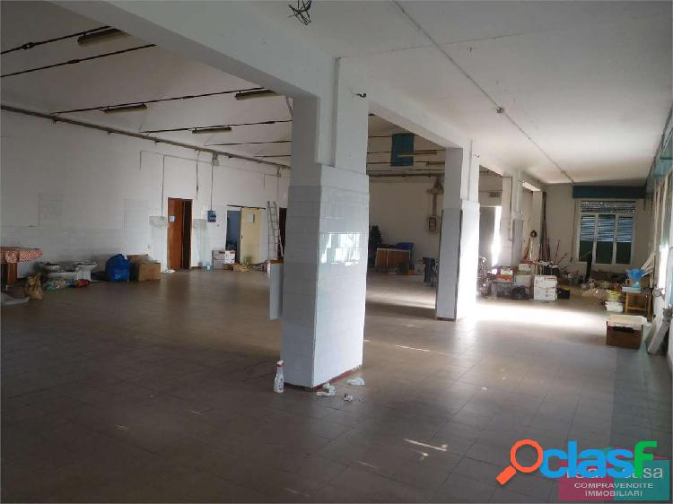 Affitto capannone/laboratorio con appartamento