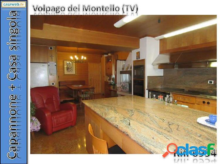 Capannone + casa volpago del m.llo (tv) rif. 6954