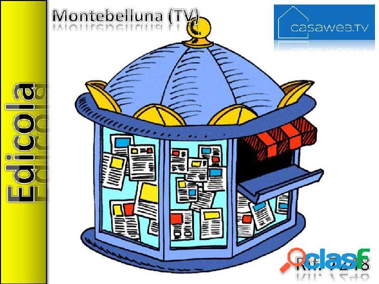 Edicola a montebelluna (tv) rif. 7248