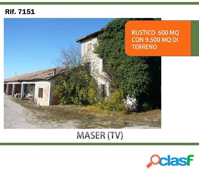 Rustico con terreno a maser (tv) rif. 7151