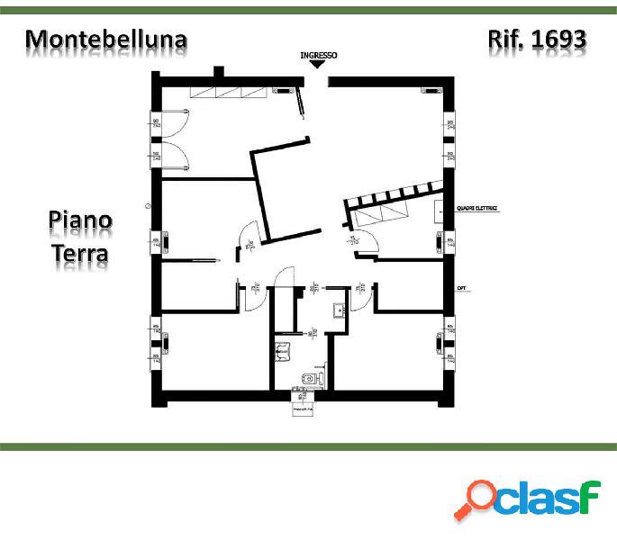 Studio dentistico 100mq montebelluna(tv) rif. 1693