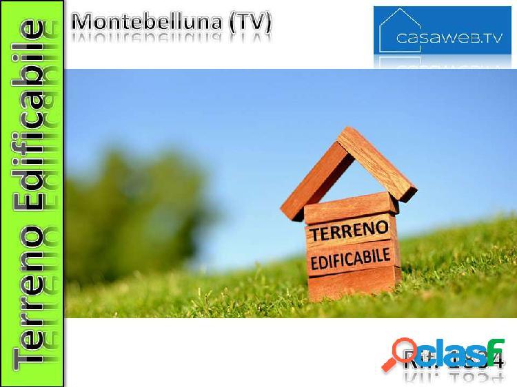 Terreno edif. 2500 mq a montebelluna (tv)rif. 1834