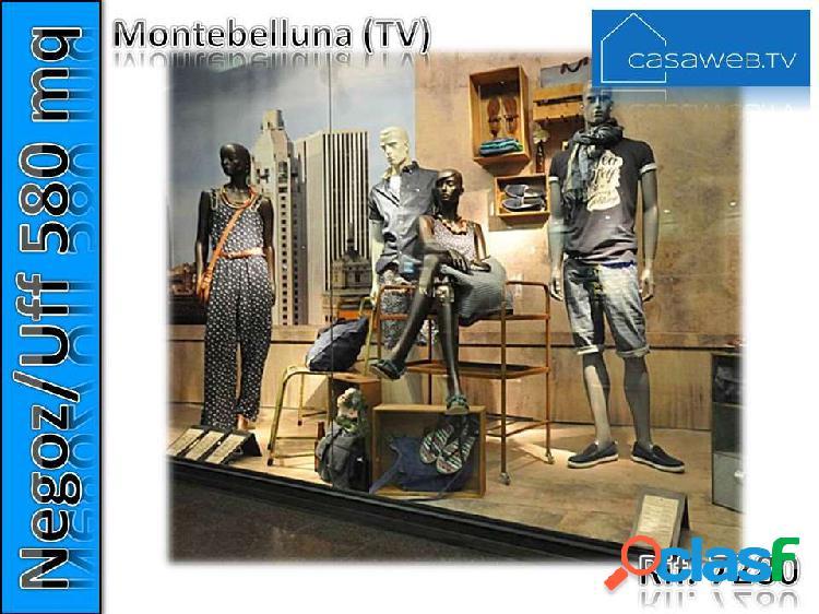 Negozio-ufficio 580 mq montebelluna (tv) rif. 7280